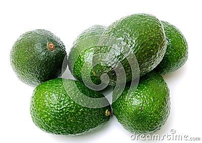 Many avocadoes