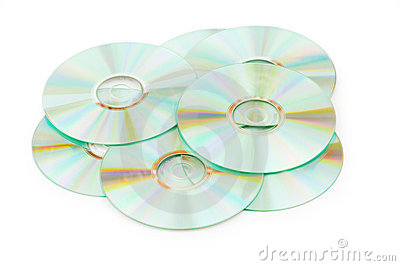 Many CDs isolated