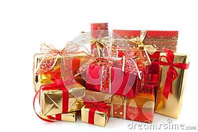 Many christmas presents