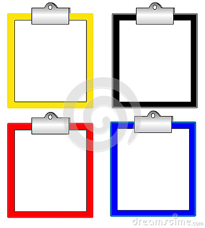 Many color clipboard