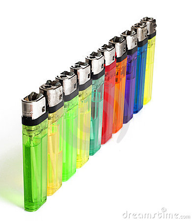 Many color lighters