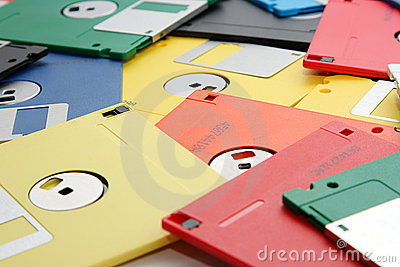 Many colored compute diskette