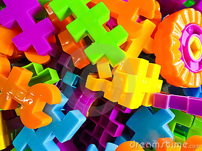 Many colored puzzles