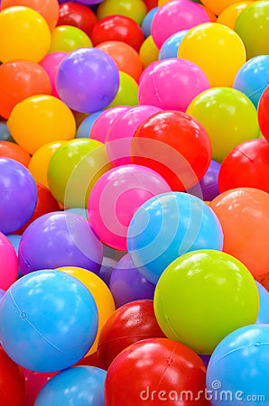Free Many Colorful Plastic Balls Royalty Free Stock Images - 48508999