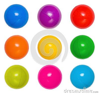 Free Many Colour Plastic Balls Royalty Free Stock Photo - 19572955