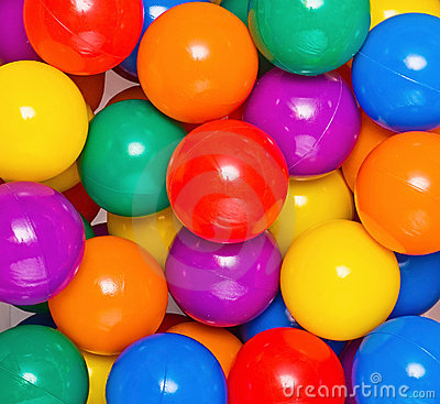 Free Many Colour Plastic Balls From Children S Royalty Free Stock Photography - 19572917