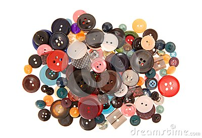 Many-coloured buttons