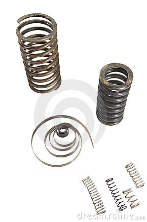 Many Different Metal Springs