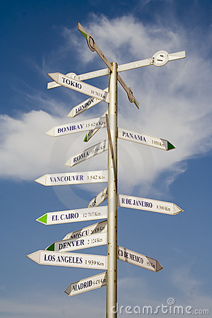 Free Many Direction Sign Stock Photo - 922770