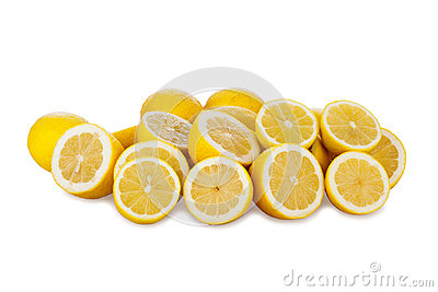 Many Fresh Lemons