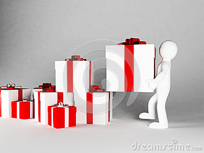 Many gifts specifically for a holiday