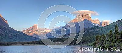 Many Glacier Panorama