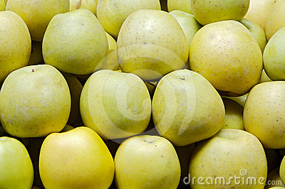 Many green apples