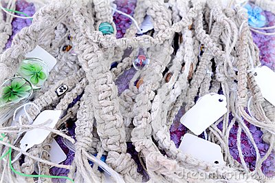 Many grey cord