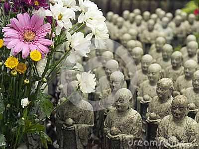 Many Jizos, Japan