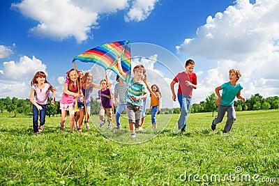 Many kids