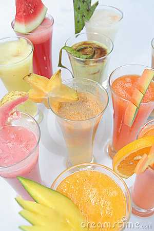 Many Kind Of Juices Royalty Free Stock Photo - Image: 7825355