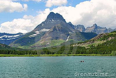 Many Lake and Glacier, Montana, US