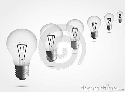 Many lamps