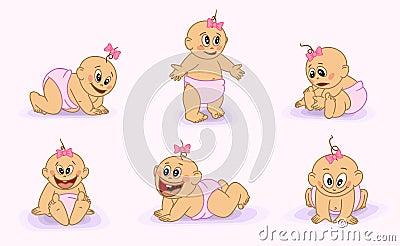 Many little babies.