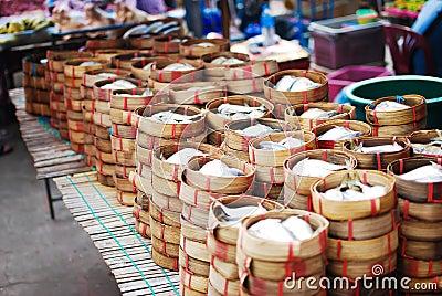Many of Mackerel in basket