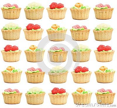 Many pastries