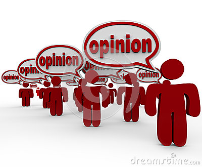 Many People Sharing Opinions Critics Talking Word Opinion Stock Photography - Image: 31864352