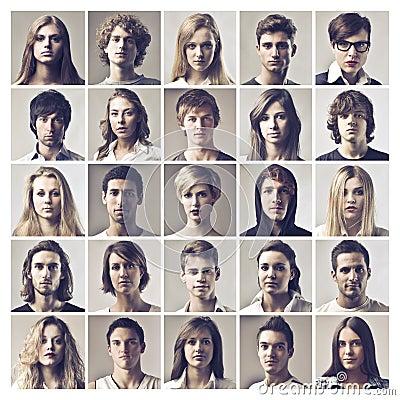 Many Portraits
