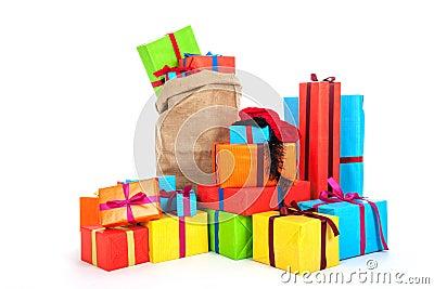 Many presents for Dutch Sinterklaas eve
