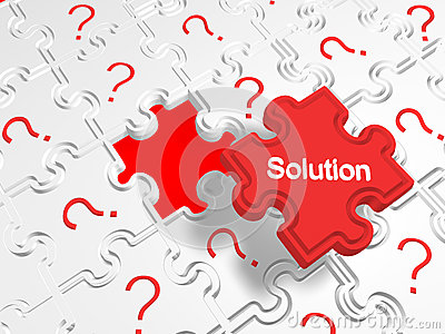 Many problems but one solution