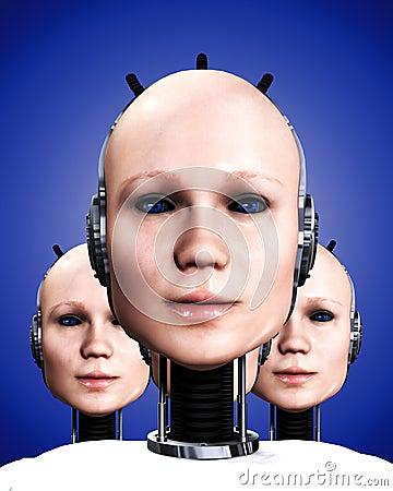 Many Robo Women 5