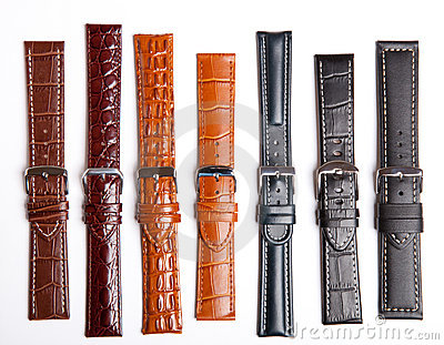 Many Straps On A Wristwatch