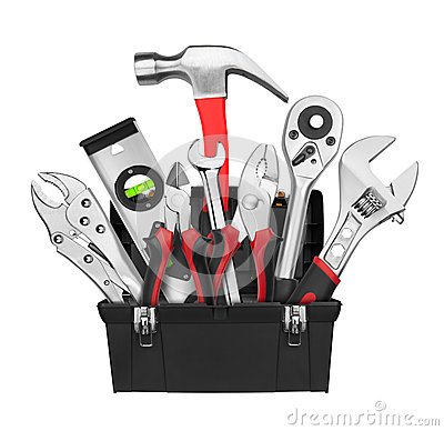 Free Many Tools In Tool Box Stock Photos - 43639063