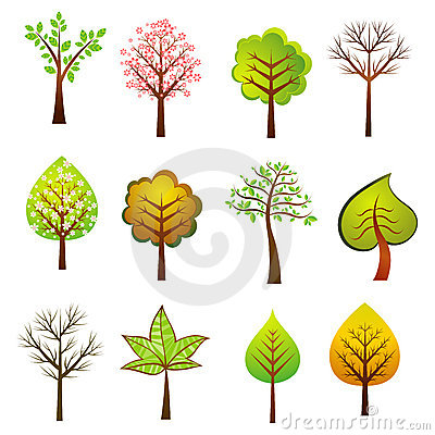 Free Many Trees, Vector Stock Photography - 2501032