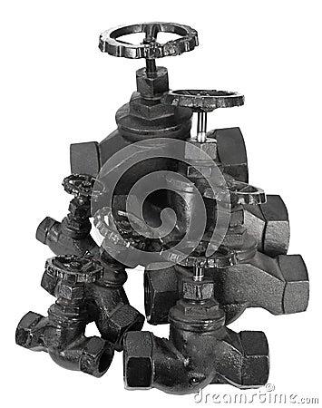 Many valves