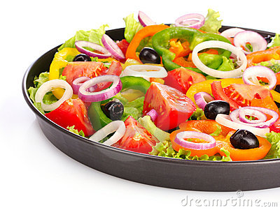 Many vegetables in a pan