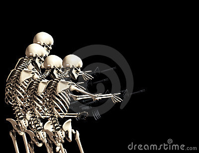 Many War Skeletons 2