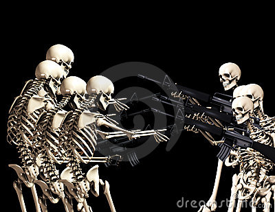 Many War Skeletons 3