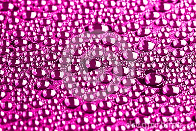 Many water drops