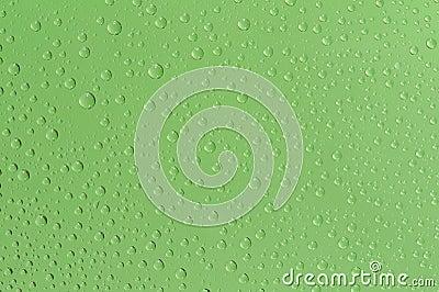 Many water drops