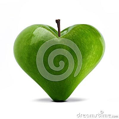 Manzana del corazón