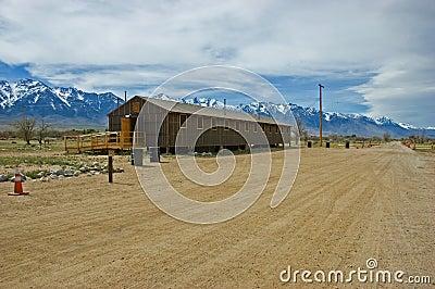 Manzanar barracks