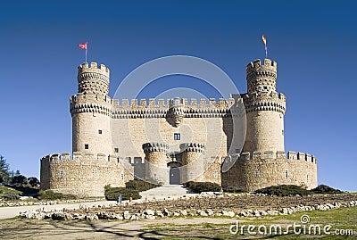 Manzanares El Real Castle frt