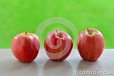 Manzanas de la gala