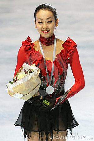 Mao ASADA (JPN) Editorial Stock Image