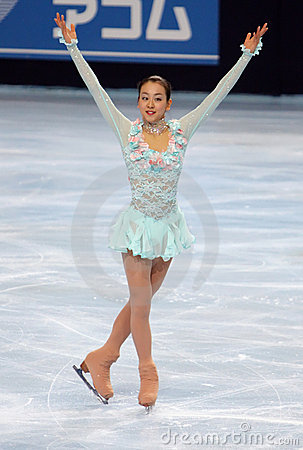 Mao ASADA (JPN) short skate Editorial Photo