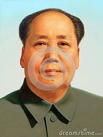 Free Mao Tse Tung Portrait Stock Photo - 7227860