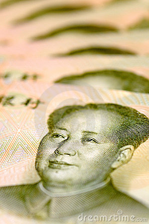 Mao Zedong from a Banknote