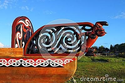 Maori boat fragment