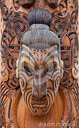 Free Maori Carving Stock Photos - 9195143
